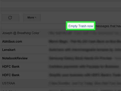 8 Steps To Clean Out Your Inbox by 4 Ways To Clean Out Your Gmail Inbox Wikihow