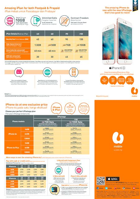u mobile has made owning an iphone 6s even more affordable with upackage an all in one
