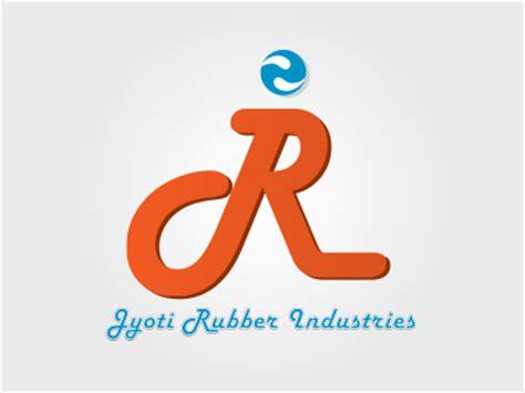 rubber st logo design jyoti rubber industries logo design neel graphicsneel