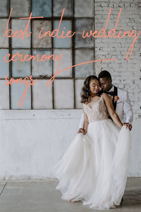 Wedding Ceremony Indie Song Playlist Ideas