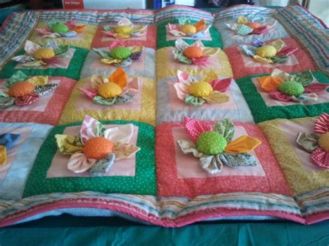 Quilting At The by You To See 3d Flowers Quilt On Craftsy