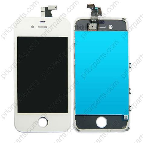 Lcd Iphone 4 for iphone 4 lcd screen assembly with digitizer white
