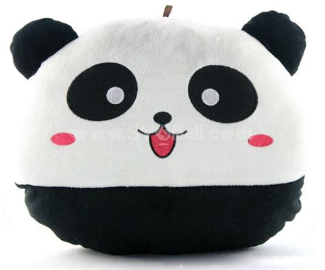 novel smile panda warming stuffed