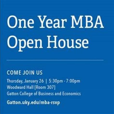 Wmu Mba Open House by Cus News Uknow