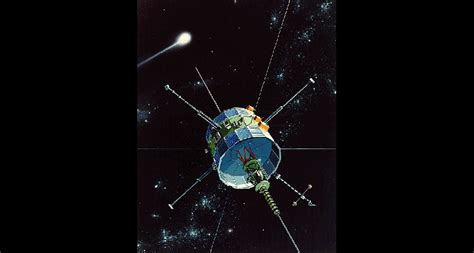 Fly Briefprobe The Spacecraft Buzzed A Comet Today In 1985 Science News