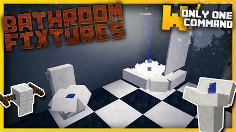bathroom mod minecraft bathroom fixtures with only one command block minecraft