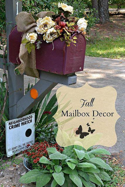 Mailbox Decor by 25 Unique Fall Mailbox Decor Ideas On Fall