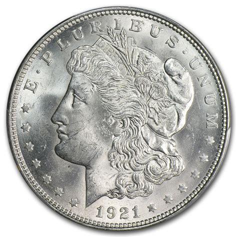 value of silver dollars 1921 1921 silver dollar ms 63 pcgs ebay
