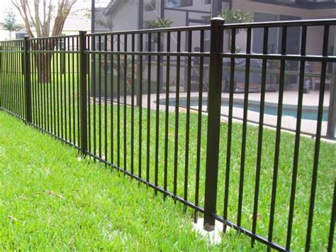 Top Aluminum Fence Manufacturers - radiance aluminum fence michigan ornamental fence and