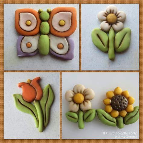 fiori in pasta di zucchero senza stini thun style flowers and butterfly fiori e farfalle in
