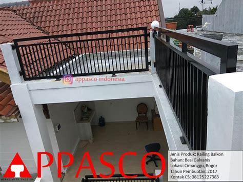 Railing Balkon Minimalis Cimanggu   Jual Kanopi Tralis
