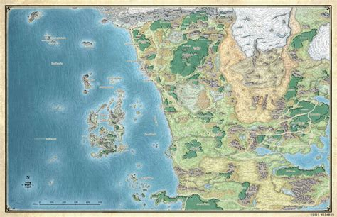 map  faeruen dungeons dragons