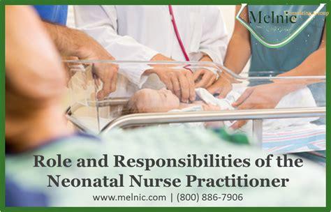 Neonatal Nurses Description by Practitioner And Physician Assistant Neonatal Practitioner And