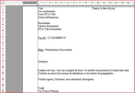 Exemple De Lettre De Motivation Sous Forme Word Word Le Courrier