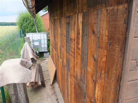 Aussenwand Holz Verkleiden Renovierung Der Gartenlaube Teil 3 R 252 Ckwand Erneuern Und