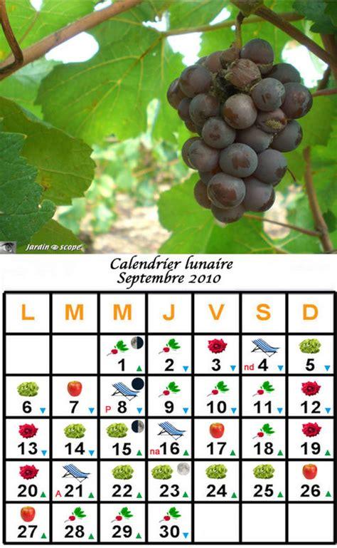 Calendrier Lunaire Novembre 2010 Jardiner Avec La Lune Au Mois De Septembre 2010 Le