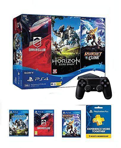 Bd Horizon Dan Drive Club sony ps4 slim 500gb hits bundle console with 3 months psn plus 3 horizon zero