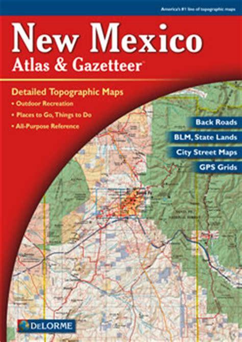 mexico delorme atlas road maps topography