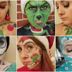 google christmas makeup 25 days of themed makeup bored panda