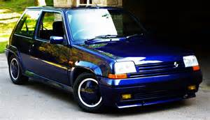 Renault Turbo Car Of The Day 1990 Renault 5 Gt Turbo