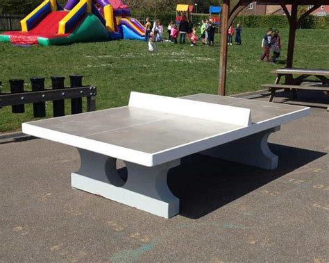 concrete table tennis table concrete table tennis table streetscape products services