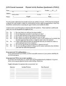 par q template for sport par q form templates fillable printable sles for