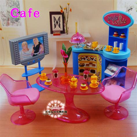 2014 new doll furniture accessories for barbie sofa new girl birthday gift plastic play set furniture living