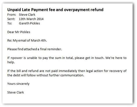 Justification Letter For Late Payment Npower To The Electricity Companies At Their Own And Winning Steve Clark