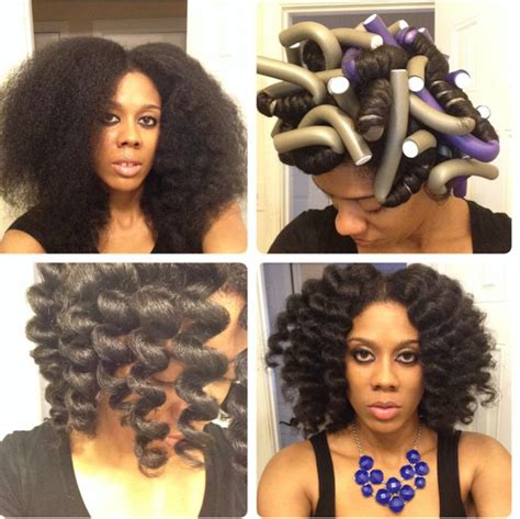 flexi rod hairstyles relaxed hair why you need flexi rods in your life curlynikki