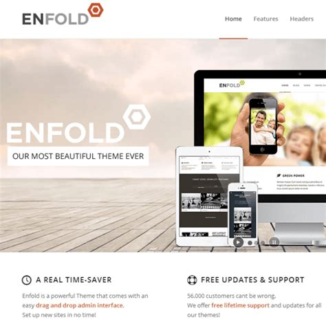 enfold theme blog demo enfold wordpress theme review download demo support