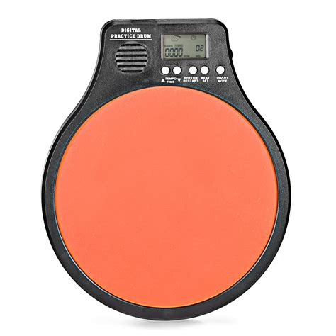 rhythm drum pad 3 in 1 digital lcd display portable drum practice pad