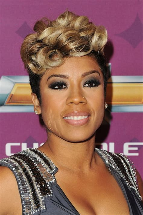 keyshia cole mohawk hairstyles keyshia cole short hair styles