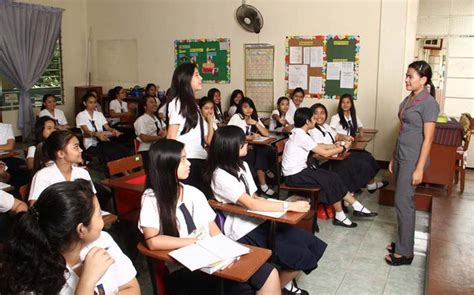 education secondary philippines report the philippine demography