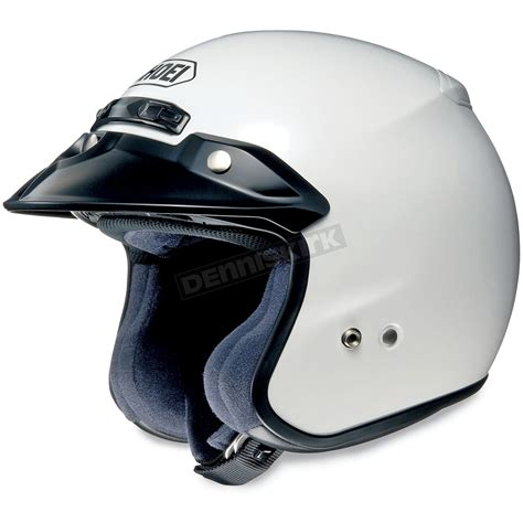 Helmet Shoei Goldwing shoei helmets rj platinum r white helmet 02 607 motorcycle goldwing dennis kirk