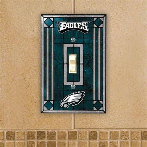 philadelphia eagles fan shop nfl philadelphia eagles light switch cover single glass