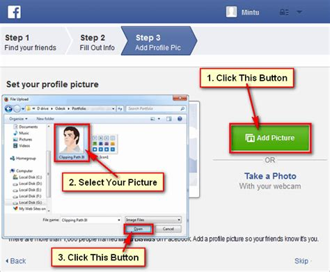 facebook picture how to create new facebook account now