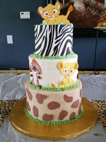 Nala King Baby Shower by King Baby Shower Cake