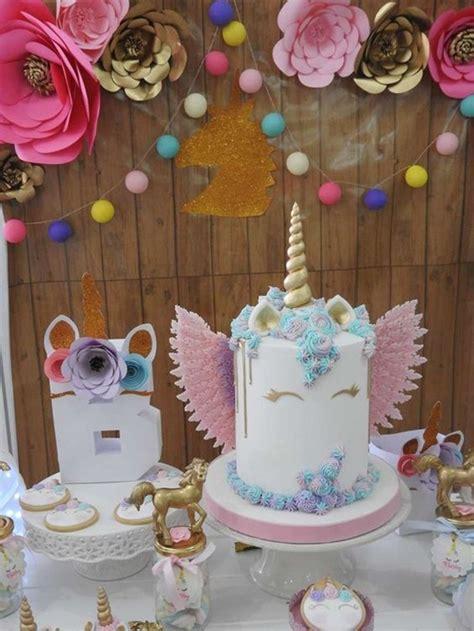 ideas de decoracion de unicornio  cumpleanos