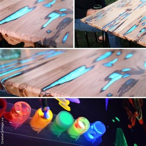 glow in the paint on wood 17 best images about design ideas on