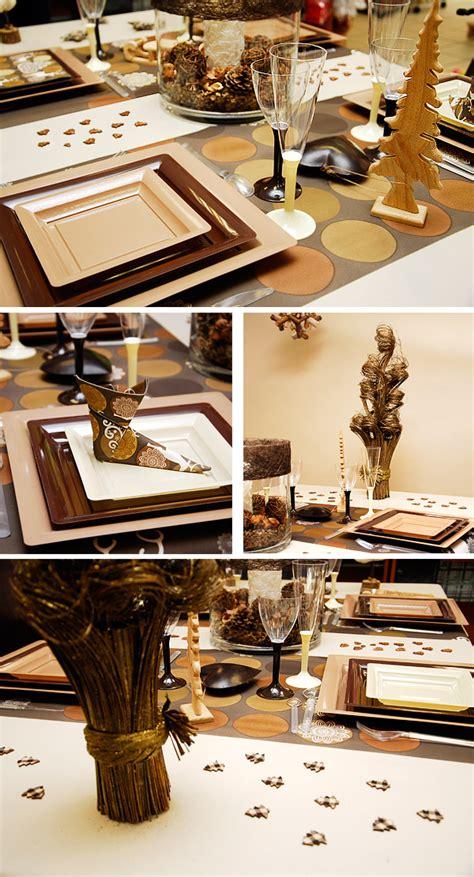 Décoration De Table Réveillon Nouvel An by Decoration De Table De Noel Simple Decor For