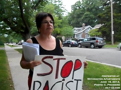 ferndale housing commission protesters claim racism in ferndale housing commission