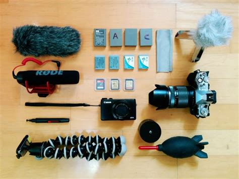 best photography gear what is the best vlogging gear to make