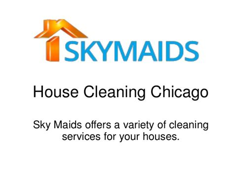house cleaning services in chicago by skymaid