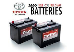 Car Battery Price Quote Toyota Car Truck Batteries Toyota Truestart Batteries