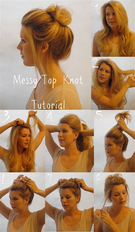 how to create messy hair with lots of volume diy messy buns that only take minutes
