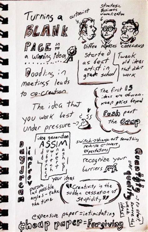 doodle revolution sxsw blank page to winning idea 171 doodle revolution