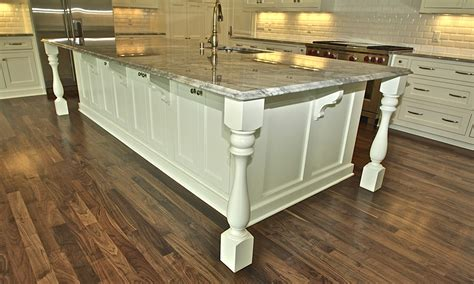 Kitchen Island With Posts Interior Photo Gallery Page 3 Kerwin Homes Ltd