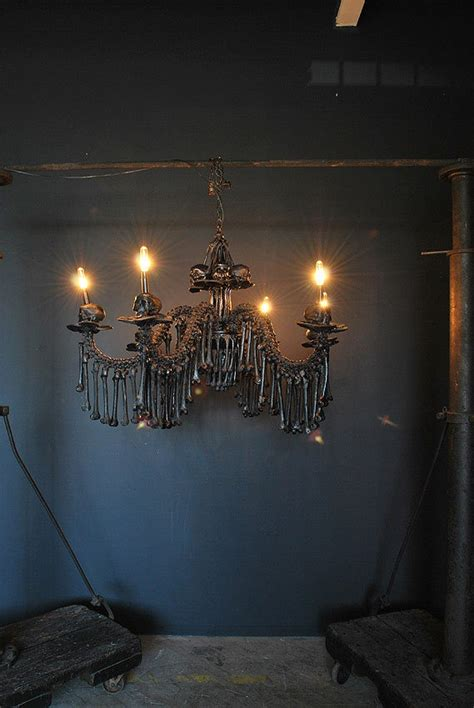 Human Chandelier Bone Chandelier Chandelier Original Scupture By Agc916 Lighting Sconces Chandeliers