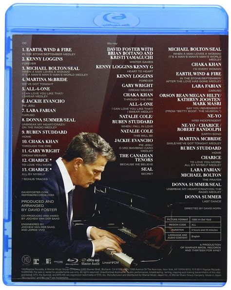libro return to mandalay david foster friends hit man returns blu ray cd musicland chile