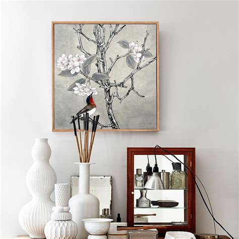 traditional wall decor aliexpress buy peony and plum traditional
